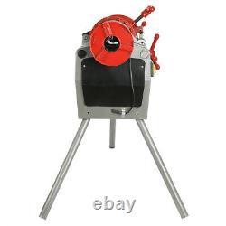 110V Pipe Threader Machine (1/2 2) Threading Cutter, Deburrer Z1T-R2