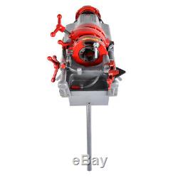 110V Z1T-R2 Electric Pipe Threader with 3 Legs Pipe Threading Machine (1/2-2)