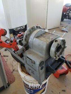 1215 Ridgid Compact Pipe Threading Machine''read''700,535,300,200,400,141,1224