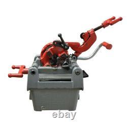 1/2 Inch 1 Inch Electric Pipe Cutter Deburrer Threading Machine