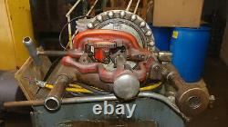 1 USED RIDGID 300 PIPE THREADER MOUNTED ON CART With MULTIPLE DIE'S MAKE OFFER