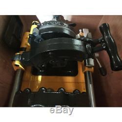 220V Electric Pipe Threader Machine (1/2 2) Threading Cutter SQ50B1