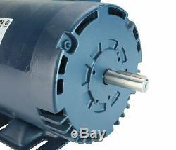 2HP 26237 Motor & Capacitor fits RIDGID 1224 Pipe Threading Machine 26092