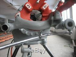 300 Pipe Threading Machine c/w 811A die head threader Compatible to Ridgid 15682