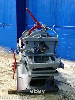 6 William Pipe Bolt Threading Machine Metal Threader Pipe Tube Bolt