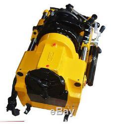 AC 220V Electric Threading Cutter Pipe Cutting Threader Machine1/2-2 Tool