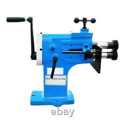 BEAD BENDER Machine 18 Gauge 8 Throat Bending Roll 4 Roller Die Sets