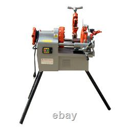 Bolt and Pipe Threading Machine 1/2 to 2 NPT Threader Deburrer 1.2HP