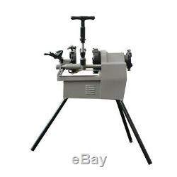 Bolt and Pipe Threading Machine 1/2 to 2 NPT Threader Deburrer 1.5HP