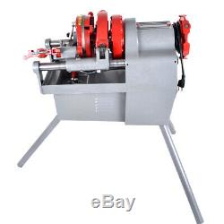 Electric Pipe Threader Machine (1/2 2) Threading Cutter, Deburrer Z1T-R2