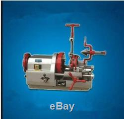 Electric Pipe Threader Machine (1/2-2) Threading Cutter, Deburrer ZT-50