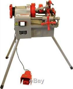 Electric Pipe Threader Threading Machine (1/2-2) Self Opening Die Head (P50B)