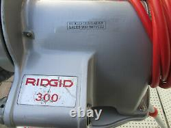 Exc Ridgid 300 T2 Pipe Threader Machine With Carriage Set