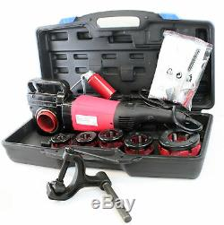 HD 2000W 1/2 2 Portable Electric Pipe Threader with6 Dies Threading Machine