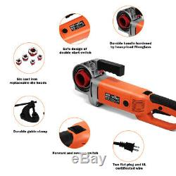 HD 2000W Portable Electric Pipe Threader 6 Dies Threading Machine 1/2 to 2 New