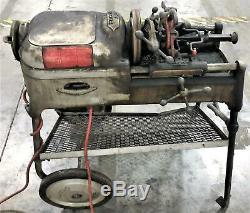 LOCAL PICK UP Ridgid 535 Pipe Threading Machine TESTED & WORKING