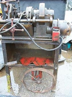 LOT OF 2 TOLEDO 999 ELECTRIC PIPE THREADING MACHINES and DIES