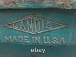 Landis 2-Head Power Pipe Threader