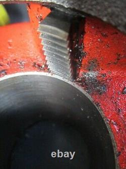 Large 110v Pipe Threader Ridgid 690-1 Threading Machine 6 Die Heads 1/2 2