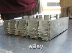 Lot of 5 Ridgid 141 H. S. Cutting Die 2-1/2 to 4 300 535 Pipe Threading Machine
