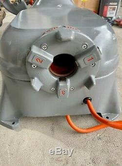 Manufacturer Refurbished Ridgid 535 V1 Pipe Threading Machine 811 Die Head Dies