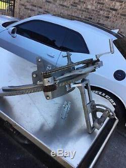 Mathey & Dearman, Pipe Bevel Machine, 8 -12 Machine, Has Hand Crank