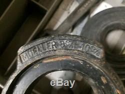 Mueller B-101 Pipe Tapping Machine And Accessories Very Good Condition