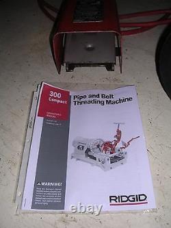 NICE RIDGID PORTABLE WHEELED 300 Compact Pipe Threader Die Head 1822 535 141 161