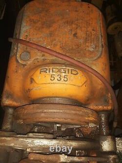 Need gone today! Ridgid 535 Pipe Threader Threading Machine