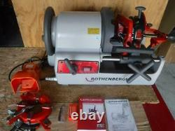 New Rothenberger 63006 Supertronic 4SE AT Portable Pipe Threading Machine