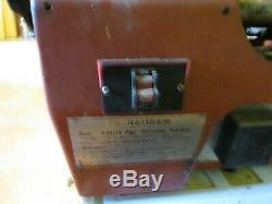 Northern PIPE THREADER 1/2- 2 MACHINE ELECTRIC WITH OIL Industrial