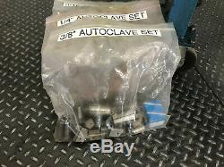 Parker Autoclave Engineers Coning & Threading Machine Model AEGCTM-2 withExtras