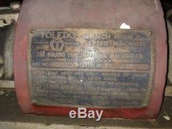 Pipe Threader 2 High Speed Toledo Industrial Threader Machine with 10 Dies
