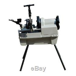 Pipe Threading Machine 1/2 to 4 NPT Automatic Threader Cutter 2HP