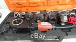 Portable Electric Pipe Threader 6 Dies Threading Machine 1/2 to 2 59767-2
