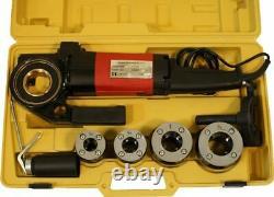 Portable Electric Pipe Threader Threading Machine NPT 1/2, 3/4, 1, 1-1/4 P30B