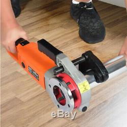 Portable Handheld Electric Pipe Threader Tool Threading Machine Wear Resistant