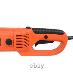 Portable Handheld Electric Pipe Threader With 6 Dies Threading Machine 220V 2300W