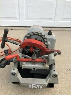 Portable Pipe Threading Machine, Ridgid, 1210 Threader For Parts/ Repairs