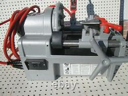 Portable Pipe Threading Machine, Ridgid, 1215 Two exc to new 811A, 815A heads