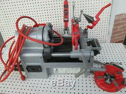 Portable Pipe Threading Machine, Ridgid, 1215 Two exc to new 811 heads
