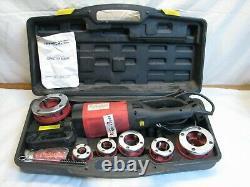 Portable Power Pipe Threader 2400 Watt Threading Machine Plumbing Heating Tool