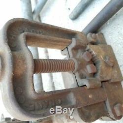 Quick Opening Die Pipe Threaders Toledo Pipe Threading Machine Crane Chicago Lot