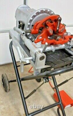 REFURBISHED Ridgid 300 Compact Pipe Threading Machine PIPE THREADER