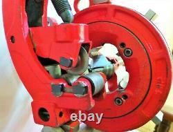 REX PIPE THREADER, ELECTRIC THREAD CUTTER MACHINE 1/2 to 2, NP-50-AV