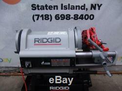 RIDGID 1224 Pipe Threader Threading Machine 1/2 TO 4 WITH 2 DIES