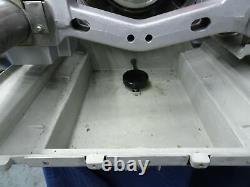RIDGID 1224 Pipe Threading Machine 1/2 4 with 2 Die Heads 220 Volts 1Phase