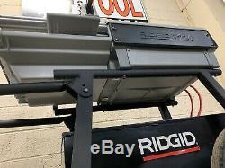 RIDGID 1224 Pipe Threading Machine 1/2 4 with 3 Die Heads 711 714 300 26092 #1