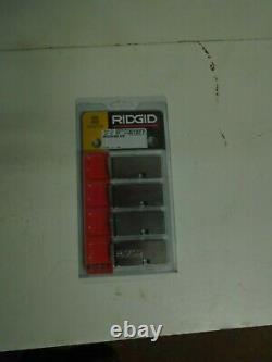 RIDGID 1233 threading machine Dies 51377 21/2- 3 inch BSPT