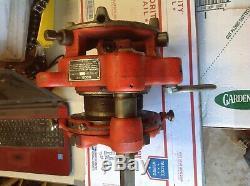 RIDGID 141 Receding Geared Threader Pipe Threading Machine 36620 #7212